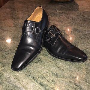 Magnanni Men's Monk strap shoes